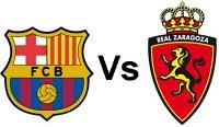 Barcelona vs Real Zaragoza