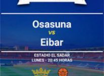 Apuesta La Liga Santander: Osasuna - Eibar
