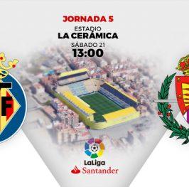La Liga / Villarreal – Valladolid