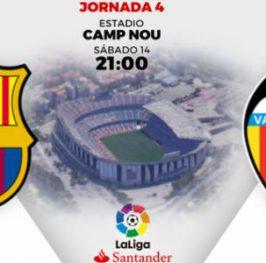 La Liga / Barcelona – Valencia